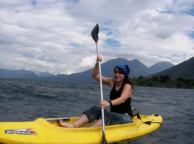 Kayaking Lake Atitlan