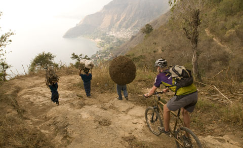Lake Atitlan Mountain Bike tour